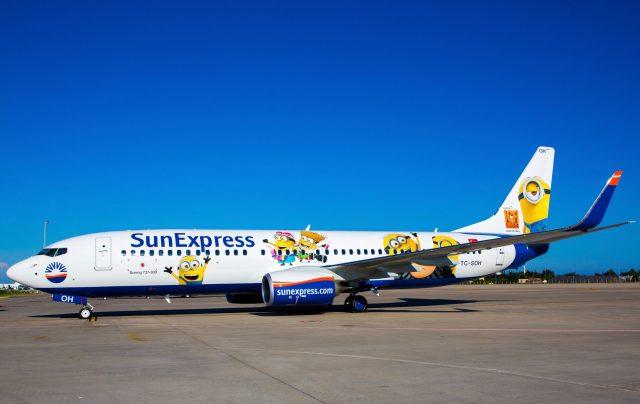 Sunexpress'in Yeni Uçağına İlginç Giydirme