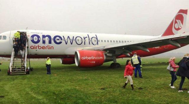 Pistten Çıkan Uçak Tüm Uçuşları Durdurdu