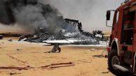 Askeri Nakliye Uçağı Çöle Düştü