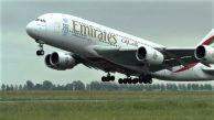 EMİRATES EN KISA UÇUŞU A380'LE YAPACAK