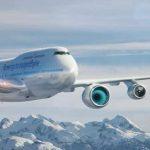 BOEING 747 UÇAN LABARATUARA DÖNÜŞECEK