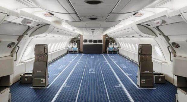 TAMAMI KARGOYA ÇEVRİLEN İLK A380 (VİDEO)