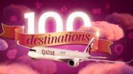 QATAR AIRWAYS UÇUŞ AĞINI 100 NOKTAYA ÇIKARIYOR